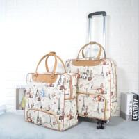 韩版拉杆包旅行包女大容量手提包出差防水登机箱包轻便行李袋短途