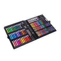 儿童绘画文具套装150件水彩笔蜡笔画笔礼盒 美术培训绘画工具