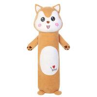 【支持礼品卡】可爱兔子毛绒玩具床上睡觉夹腿长条抱枕公仔女生玩偶抱抱熊布娃娃 la9