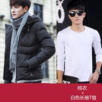2017冬季男士棉衣冬装外套男加厚羽绒青年棉袄大码男装衣服潮