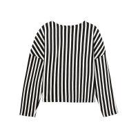 【年前最后狂欢,1件3折到手价:50.7】美特斯邦威卫衣女冬装新款时尚条纹套头衫