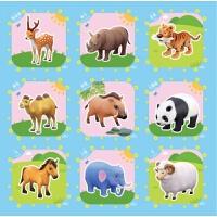 卡通宝宝爬行垫儿童拼图泡沫地垫拼接铺地板卧室泡沫垫子家用地毯 16种图案随机发货
