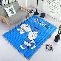 天天加厚宝宝爬行垫防滑儿童地垫游戏毯折叠米布质婴儿爬爬垫 0*200cm