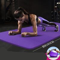 20180519123244118瑜伽垫加厚平板支撑运动垫初学者女士防滑健身垫仰卧起坐瑜珈毯子