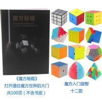 ?创意减压玩具魔方教二阶三阶四阶入门初学者礼物?