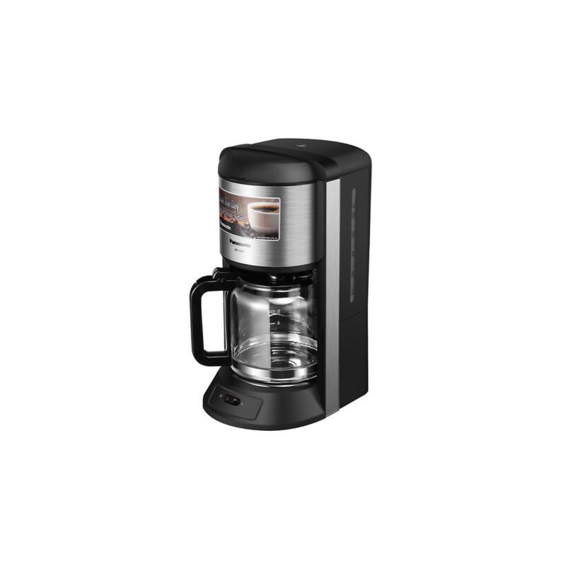 Panasonic/松下 NC-F400 家用美式咖啡机 商用滴漏式蒸汽煮咖啡壶 1200ML 高温蒸汽萃取 九孔喷淋式