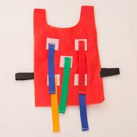 揪尾巴幼儿园抓尾巴背心玩具儿童粘球衣户外体育游戏感统训练器材
