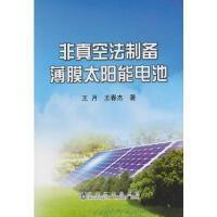 非真空法制备薄膜太阳能电池王月 王月,王春杰 冶金工业出版社