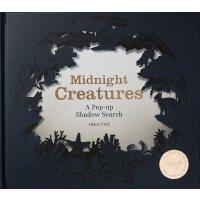 Midnight Creatures: A Pop-Up Shadow Search 夜行动物 艺术剪影立体书