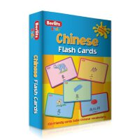 英文原版 Chinese (Mandarin) Flash Cards (English and Chinese Ed