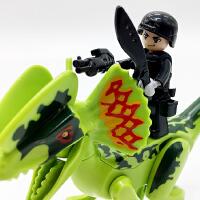 兼容乐高 男孩积木恐龙世界玩具侏罗纪系列拼装拼插霸王龙儿童节