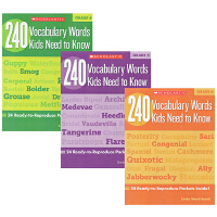 (198减40)【小学高年级 Grade 4-5-6】 240 Vocabulary Words Kids Need