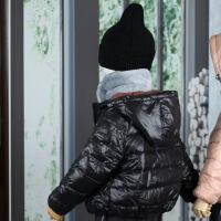 貌貌妈家儿童面服18秋冬羽绒服男女童保暖连外套宝宝外出服7色