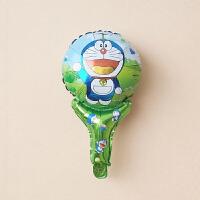 叮当猫铝膜气球儿童生日哆啦A梦卡通造型宝宝周岁生日布置气球 手持棒棒 叮当猫竹蜻蜓款