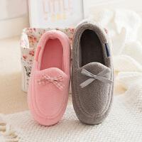 【用劵立减50元】棉拖鞋女冬季包跟家居家室内地板软底防滑加绒保暖可爱产后月子鞋