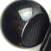 汽车内饰贴膜 亮面碳纤维贴纸 碳纤维贴膜 车顶膜 汽车改色 5D黑4D纹 1.5米*1米