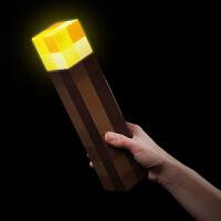 我的世界苦力怕 火把 火炬可亮灯可挂墙 模型壁灯夜灯