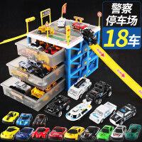 儿童玩具车模型合金仿真男孩0-1-2-3-4岁滑行小汽车套装组合5-6岁