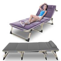 折叠床单人午睡床简易床行军床家用陪护睡椅办公室午休床p0f