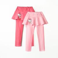 女童长裤裙裤 女孩宝宝弹力打底裤子 儿童秋装童装