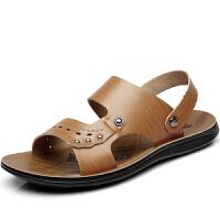 格罗堡春季新款凉鞋男拖鞋男防滑韩版凉拖鞋男休闲男士凉鞋沙滩凉拖