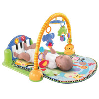 琴琴婴儿健身器新生儿音乐钢琴架W2621早教子宝宝玩具抖音 W2621
