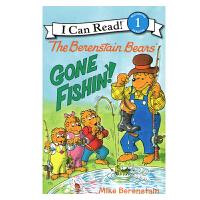 英文原版The Berenstain Bears: Gone Fishin'![4-8岁]