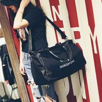 新款时尚旅行包女手提包大容量行李包长短途轻便旅游包健身包大包 大