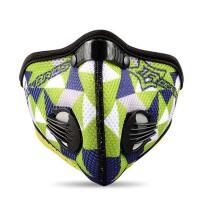 男女款保暖面罩 自行车骑行口罩 活性炭防风防尘口罩