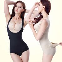 薄款 女塑身内衣塑形内衣肚子后脱无痕束身衣塑身衣 连体紧身衣