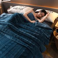 羊羔绒毛毯双层法莱绒毯子加厚珊瑚绒毯礼品毯