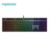 雷柏(Rapoo) V700RGB合金版 机械键盘 有线键盘 游戏键盘 108键RGB背光键盘 可编程键盘 吃鸡键盘 青
