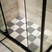 浴室防滑垫拼接地垫淋浴房家用厕所卫生间隔水洗澡卫浴洗手间脚垫