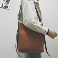 女包2018新款韩版时尚潮简约百搭托特包子母包手提包单肩包大包