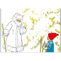 奥利去滑雪硬壳精装绘本图画书童立方出品亲子共读正版童书