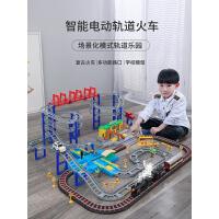儿童玩具小火车轨道汽车套装男孩益智多功能智力动脑电动?托马斯