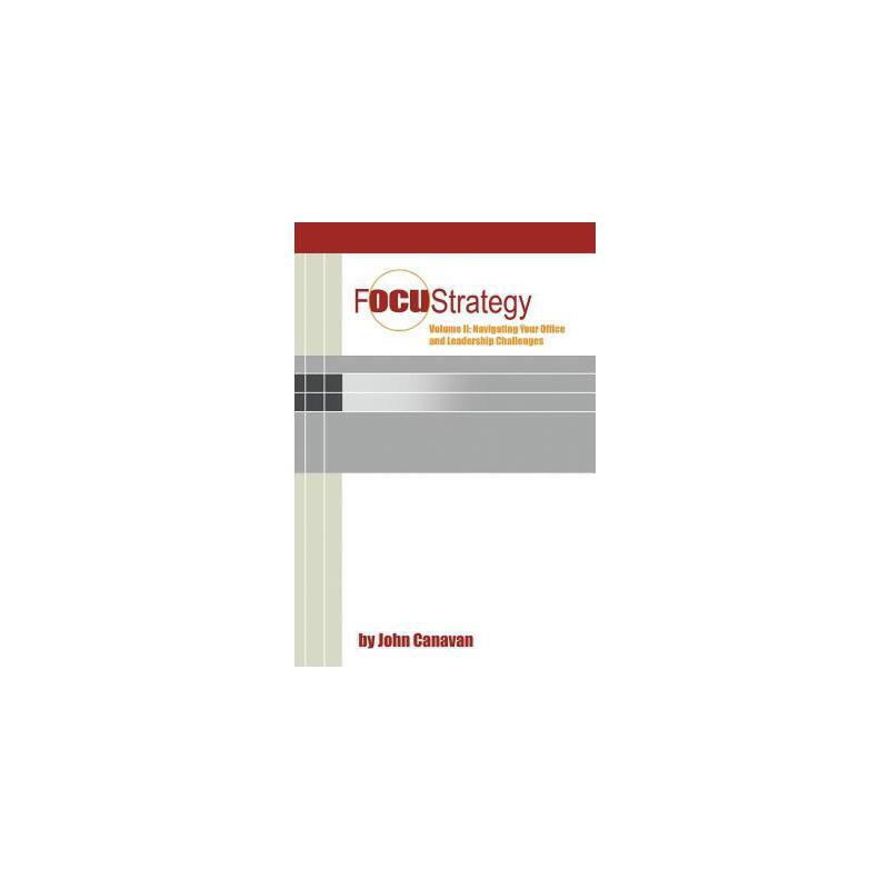 【预订】Focustrategy Vol. II: Navigating Your Office and Leadership Challenges 预订商品,需要1-3个月发货,非质量问题不接受退换货。