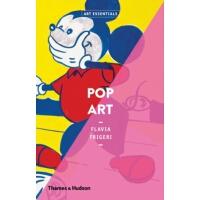 英文原版 艺术要点 Art Essentials Pop Art 波普艺术 艺术入门书 画册 T&H 塔森出版社