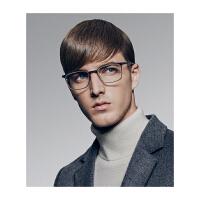 保圣(PROSUN)光学镜架商务休闲近视镜架中性方框眼镜框PJ5010 B10砂黑