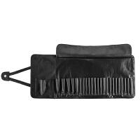 化妆刷包 化妆刷收纳包 收纳袋 美妆工具包(不含化妆) 24位折叠刷包(黑色) 空包 其它材质