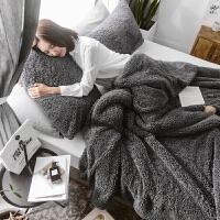 加厚法兰绒羊羔绒毛毯被子冬季保暖被套珊瑚法莱绒毯沙发午睡盖毯