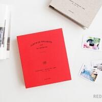 拍立得相册本3寸插页式可写字三寸照片影集文艺小清新纪念册