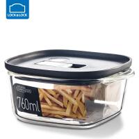 �房�房勰�岵AПur盒�L方形�盒冰箱水果���w收�{盒保�r��饪� 760ml【黑色】