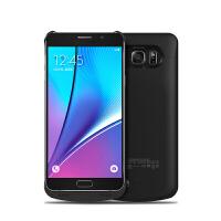 三星note5背夹电池大容量轻薄背夹充电宝N9208移动电源三星N9200无线充电器 黑色