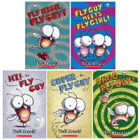 #Fly Guy Reader Collection (5 Books) 苍蝇小子5本套装