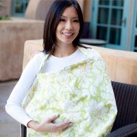 出口美国哺乳巾 产后外出喂奶遮巾授乳披肩遮挡罩衣 防走光遮羞布 均码