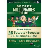 英文原版 超级富豪俱乐部-沃伦・巴菲特的26个成功秘诀 Secret Millionaires Club Warren