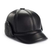冬天老人帽子 前进帽 中老年男士帽子 皮帽子 冬帽 棉帽 鸭舌帽