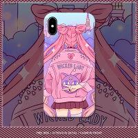 美少女战士水冰月手机壳苹果X磨砂硬壳iphone7卡通套6splus/8动漫