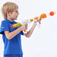 奥杰空气动力枪软蛋抢手动可发射泡沫弹男孩打我鸭射击儿童玩具抢